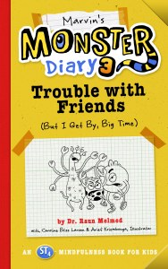 cover of Marvin's Monster Diary 3: Trouble with Friends